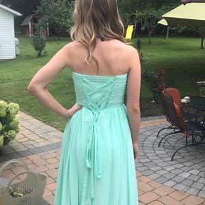 Vibrant Mint Formal Dress
